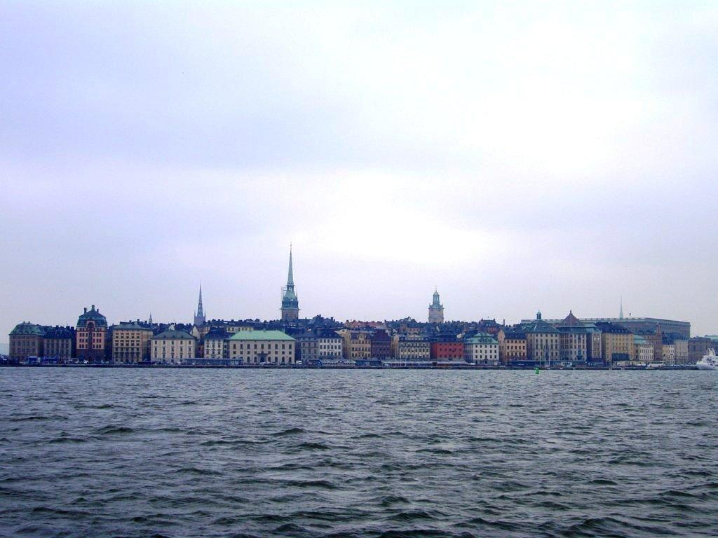 Quartier de la vieille ville de Stockholm