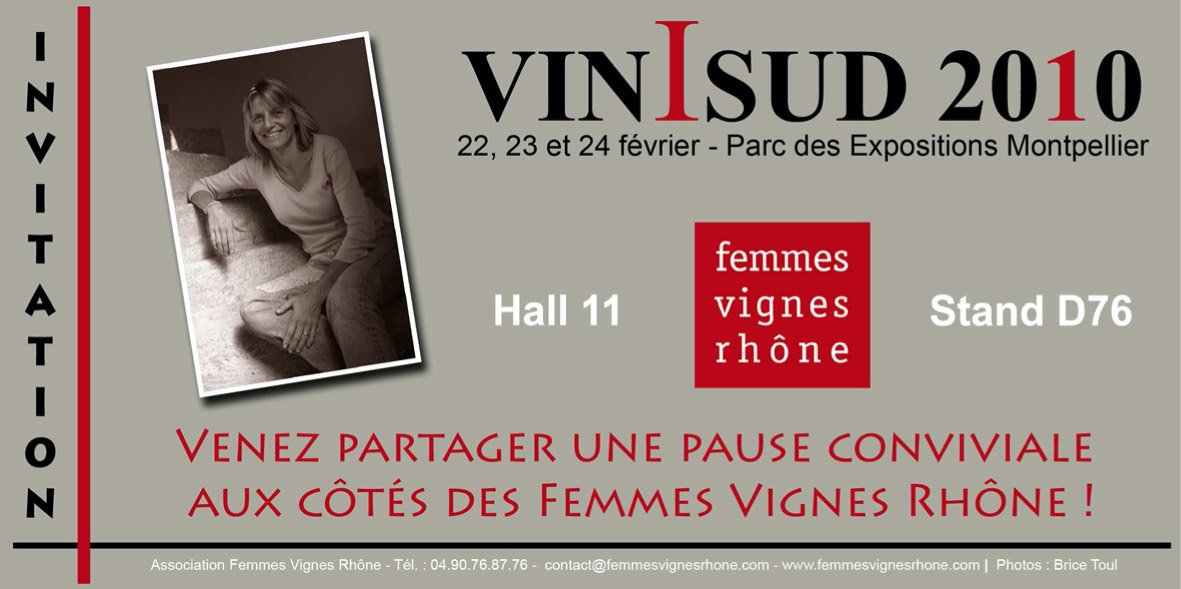 Invitation VINISUD