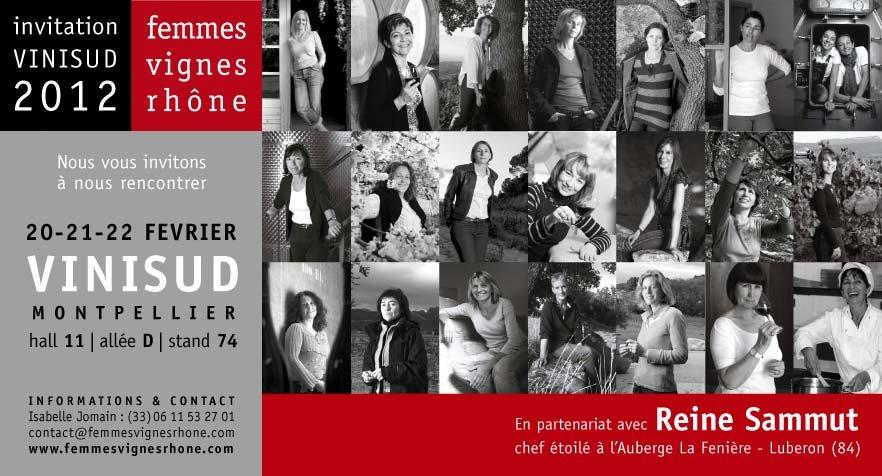 Prochain salon professionnel des Vignobles Mayard : VINISUD 2012 dans Agenda des salons FVR-VINISUD-2012-Invitation1