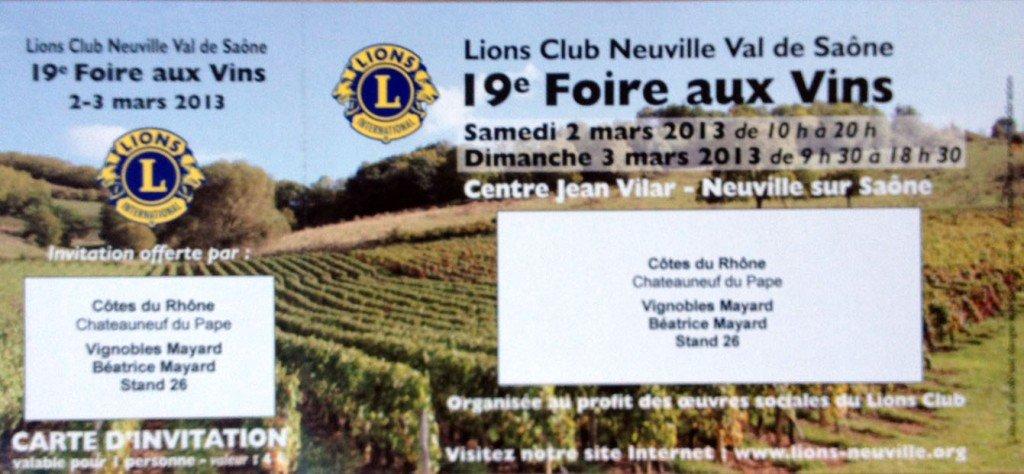 Foire aux Vins de Neuville - 3 et 4 mars 2012 dans Agenda des salons photo-10