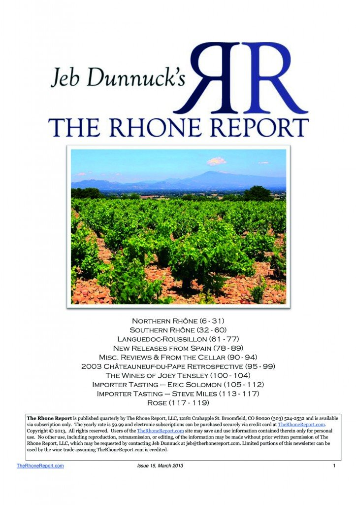 The Rhône Report - Jeb Dunnuck  dans Revue de presse - Actualité presse jebdunnuck1