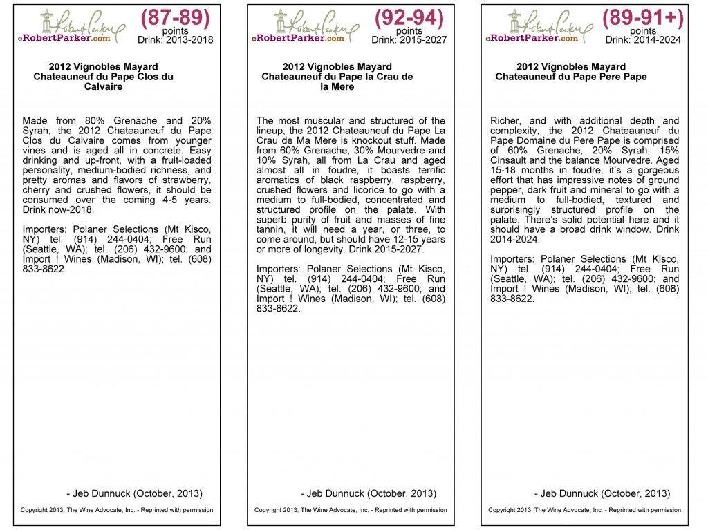 Notes de Jeb Dunnuck sur le millésime 2012 dans Revue de presse - Actualité presse jeb-oct-2013
